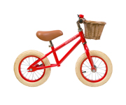 Bicicleta Banwood sin Pedales First Go! Roja