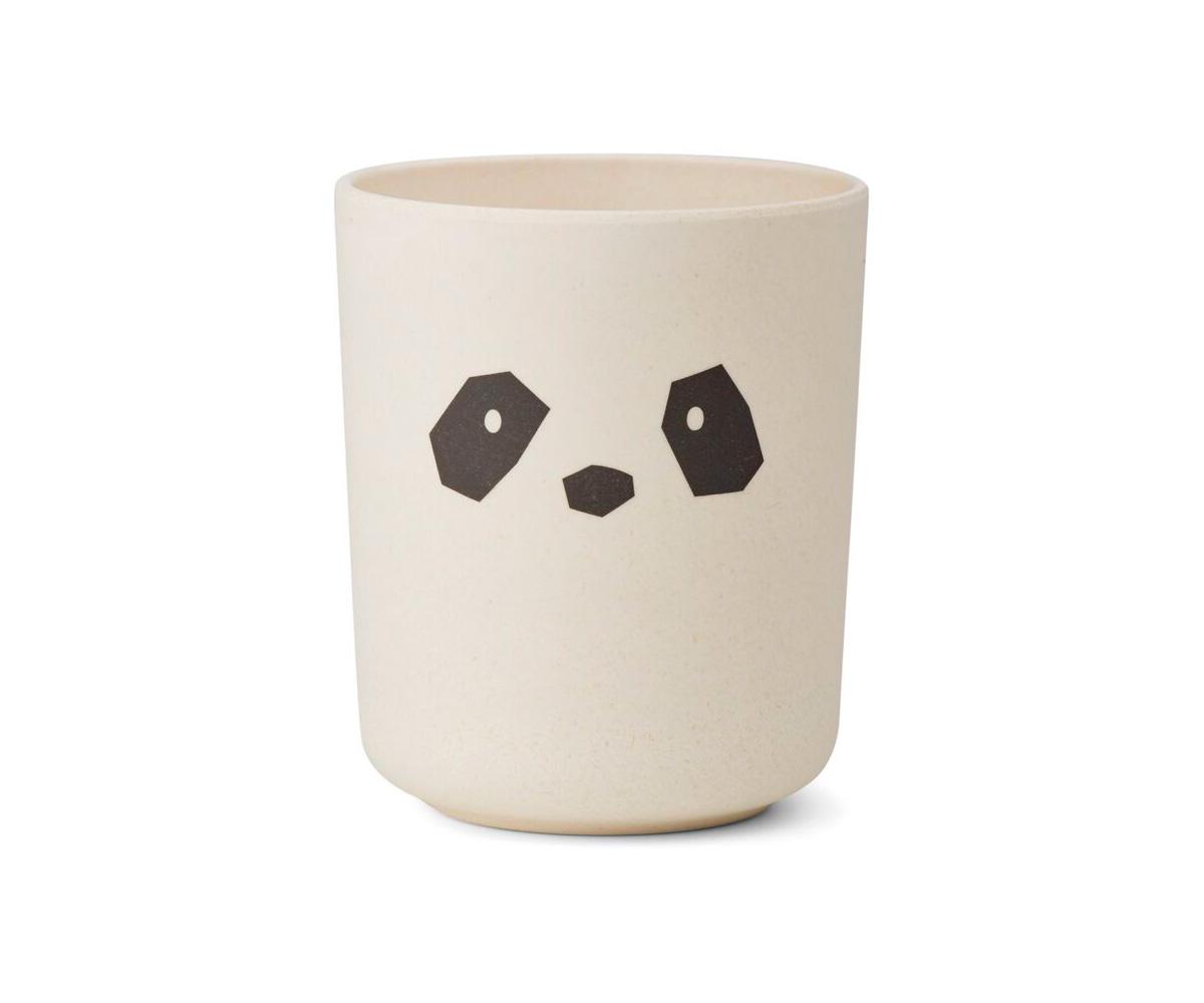 Set vajilla bamb sr panda crema tutete - Vajilla bambu ...