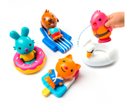 Juguetes de Baño Pool Party Collection - Pack 8 Piezas