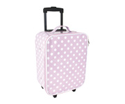 Trolley Light Pink Dots