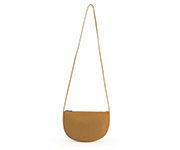 Bolso Media Luna Farou Caramelo Fudge