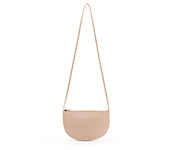 Bolso Media Luna Farou Soft Pink