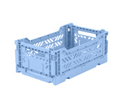 Caja Lillemor Plegable Mini Blue