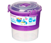 Contenedor Alimentos Lunch Stack To Go Lila 965ml