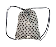 Mochila Plastificada Personalizable Fun Black Star