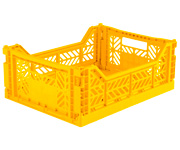 Caja Lillemor Plegable Mediana Yellow