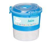 Contenedor Alimentos Personalizable Lunch Stack To Go Azul 965ml
