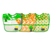Pack 3 Baberos Plastificados Green Fox 9-18m