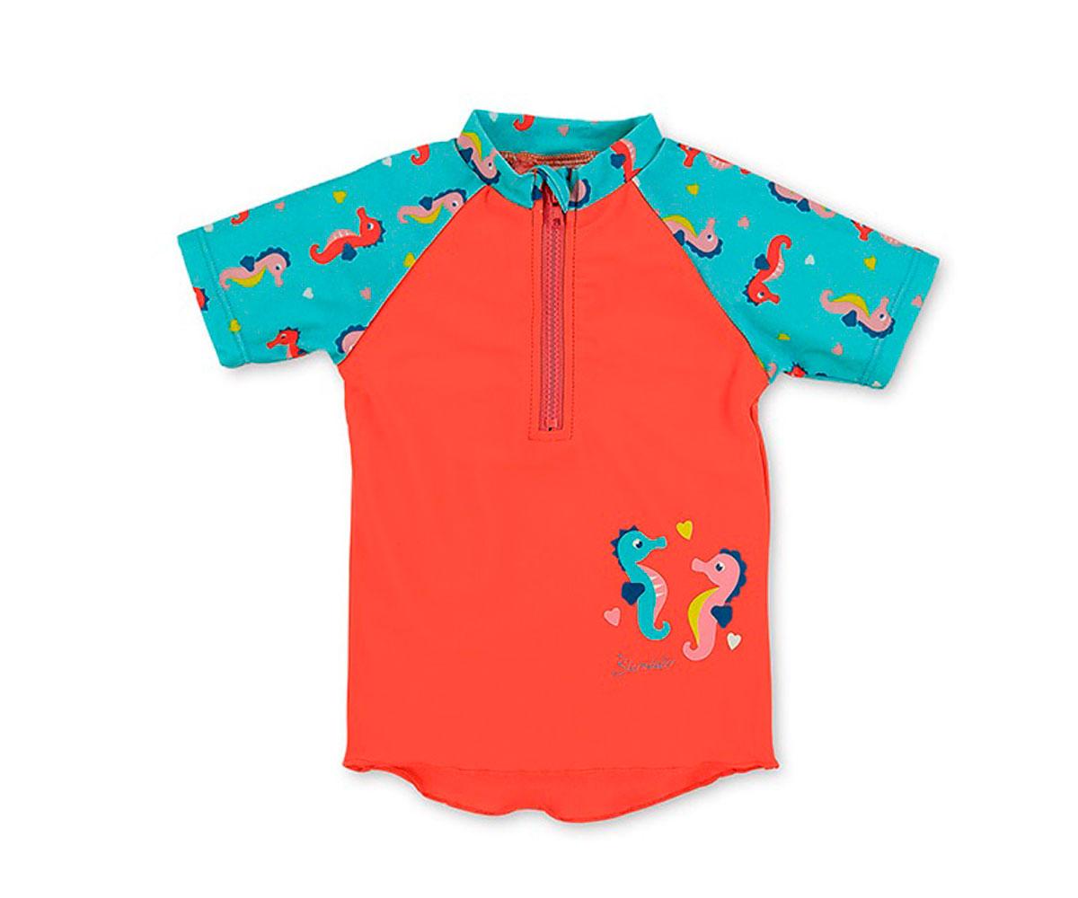 16d62cc88 Camiseta Bañador Caballitos de Mar 6-12m - Tutete