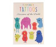 Tatuajes Temporales Monster of the World