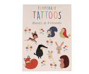 Tatuajes Temporales Rusty Friends