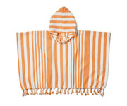 Poncho Roomie Stripe Mustard/Creme