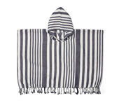 Poncho Roomie Stripes Navy