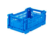 Caja Lillemor Plegable Mini Deep Blue