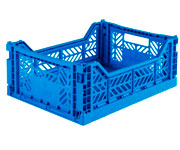 Caja Lillemor Plegable Mediana Deep Blue