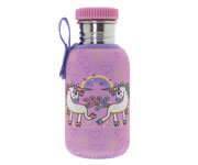 Botella Acero con Funda Unicornio 500ml