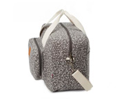 Borsa Clinica Liberty Flowers Grigio Scuro