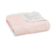 Trapuntino Mussolina Aden+Anais Dream Blanket Leaves Silky