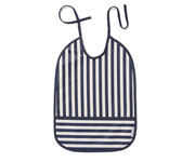 Babero Lai Stripes Navy/Creme