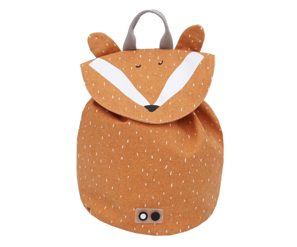Mr Fox Cuscini.Mini Zaino Trixie Mr Fox Personalizzato Tutete