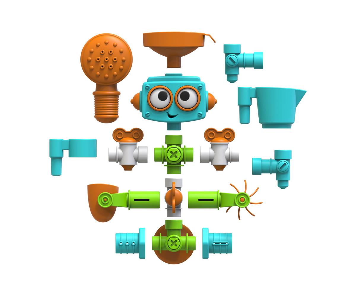 Robot de Baño