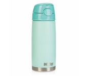 Thermos Acciao Inox con Cannuccia Verde 420ml