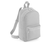 Mochila Mini Fashion Gris Claro Personalizable