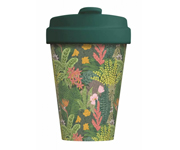 Vaso Bambú con Tapa Jungle Look