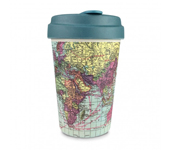 Vaso Bambú con Tapa Around the World