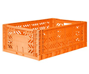 Caja Lillemor Plegable Maxi Orange