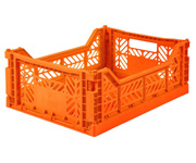 Caja Lillemor Plegable Mediana Orange