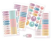 pegatinas y etiquetas para marcar