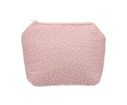 Neceser Mini Dot Rosa Personalizzabile