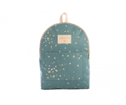 Mochila Infantil Mini Too Cool Gold Confetti/Magic Green