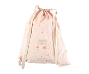 Mochila Saco Too Cool Gold Stella/Dream Pink Personalizable
