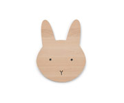 Lámpara de Pared Madera Natural Rabbit