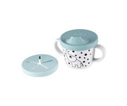 Taza Dispensador de Snacks Elphee Azul