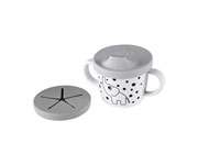 Taza Dispensador de Snacks Elphee Gris