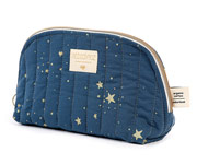 Neceser Holiday Gold Stella/Night Blue Personalizable