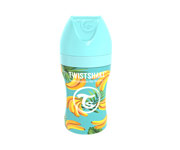 Twistshake Biberon Anticolica Acciaio Inox Banana 260ml