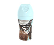 Twistshake Biberon Anticolica Acciaio Inox Coconut 260ml