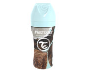 Twistshake Biberon Anticolica Acciaio Inox Coconut 330ml