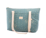 Bolsa Maternidad Paris Gold Confetti/Magic Green