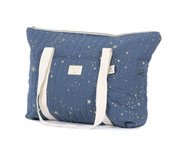 Bolsa Maternidad Paris Gold Stella/Night Blue