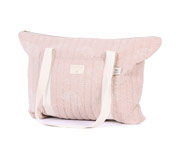 Bolsa Maternidad Paris White Bubble/Misty Pink