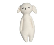 Peluche Sonaglio Rattle Soft Sheep Natural