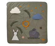 Glenn Activity Blanket Faune Green