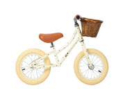 Bicicleta Banwood sin Pedales First Go! Bonton Cream
