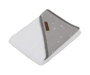 Capa de Baño Little Stars Grey Personalizable
