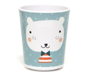 Vaso Melamina Bear Triangles